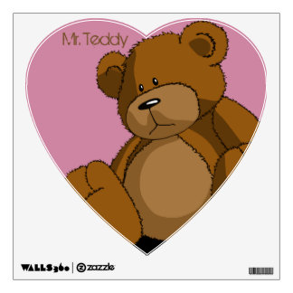Mr. Teddy Wall Decal