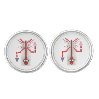 Mr Thermostat Cufflinks
