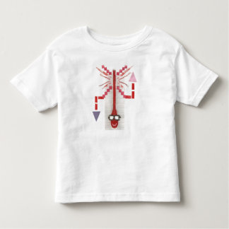 Mr Thermostat No Background Toddler T-Shirt