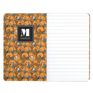 Mr Tickle | Orange Tickle Pattern | Add Your Name Journal