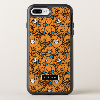 Mr Tickle | Orange Tickle Pattern | Add Your Name OtterBox Symmetry iPhone 7 Plus Case