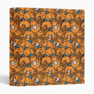 Mr Tickle | Orange Tickle Pattern Binders