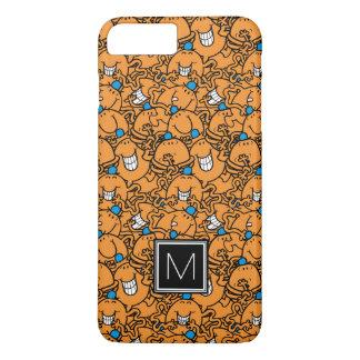 Mr Tickle | Orange Tickle Pattern | Monogram iPhone 7 Plus Case