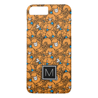 Mr Tickle | Orange Tickle Pattern | Monogram iPhone 8 Plus/7 Plus Case