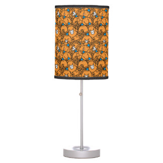 Mr Tickle | Orange Tickle Pattern Table Lamp