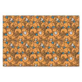 Mr Tickle | Orange Tickle Pattern Tissue Paper