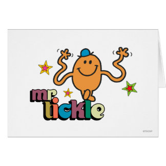 Mr. Tickle | Sparkling Stars Greeting Card