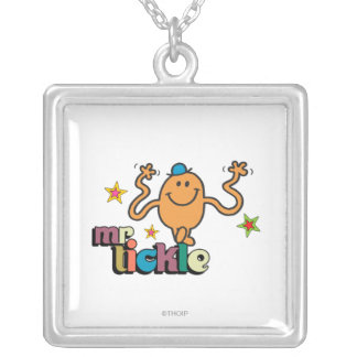 Mr. Tickle | Sparkling Stars Silver Plated Necklace