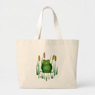 Mr. Toad Large Tote Bag