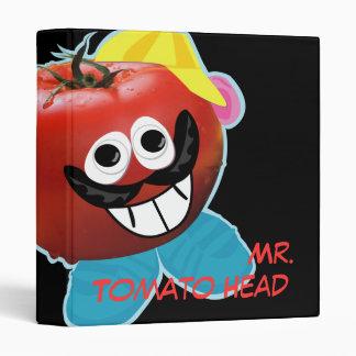 mr. tomato head humorous parody binder