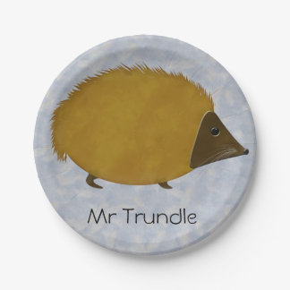 Mr Trundle Paper Plate