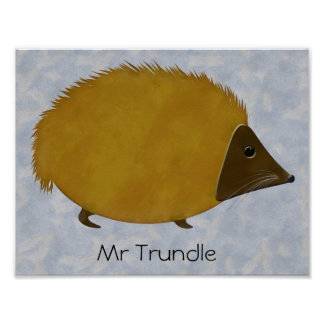 Mr Trundle Poster