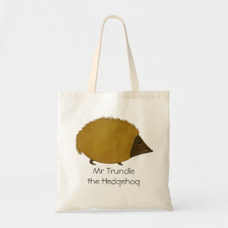 Mr Trundle the Hedgehog Tote Bag