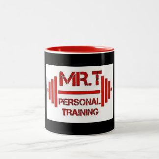 Mr.T's Personal Training Red Logo Mug