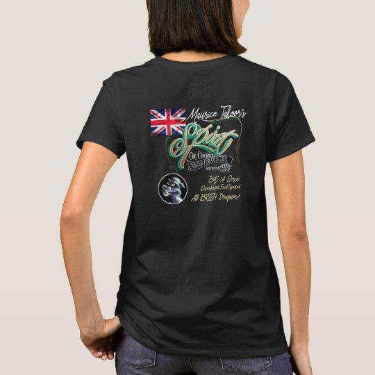 Mr T's Spirit T shirt. Ladies fit - no smoke T-Shirt