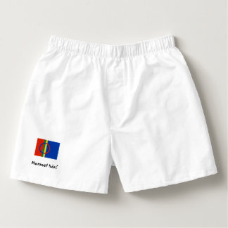 Mr. underwear with samisk flag and your own name! boxers