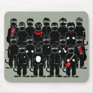 Mr.Vampire Siblings Mouse Pad. Mouse Pad