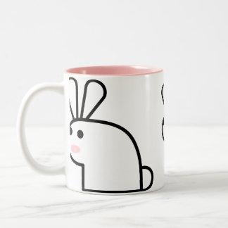 Mr. White Wabbit Mug