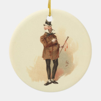 Mr. Wilkins Micawber David Copperfield Ceramic Ornament