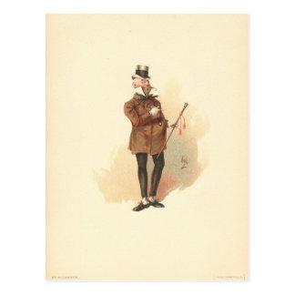 Mr. Wilkins Micawber David Copperfield Postcard