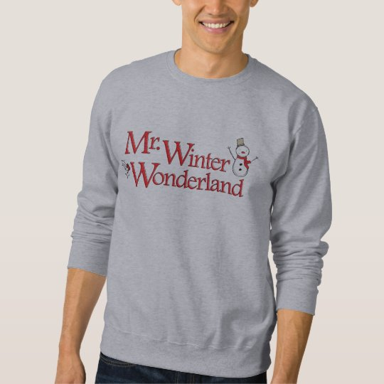 Mr. Winter Wonderland Funny Shirt