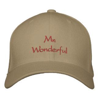 Mr Wonderful Embroidered Baseball Caps