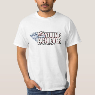 Mr Young Achiever White T-Shirt