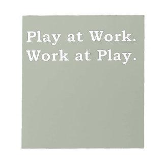 Mre Zen Anything Sayings - Play at Work Notepad