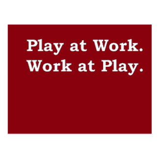 Mre Zen Anything Sayings - Play at Work Postcard