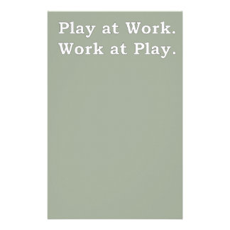 Mre Zen Anything Sayings - Play at Work Stationery
