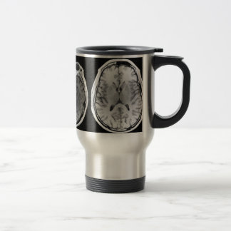 MRI brain image travel mug