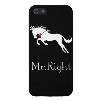 MrRight horse logo iPhone 5/5S Covers