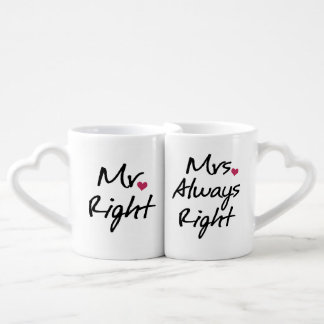 Mrs Always Right Coffee Mug Set
