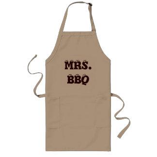 Mrs. BBQ Long Apron