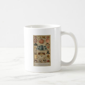 Mrs Beeton Breakfast Tea China Crockery Classic White Coffee Mug