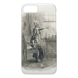 Mrs Betsy Trotwood, from 'Charles Dickens: A Gossi iPhone 7 Case