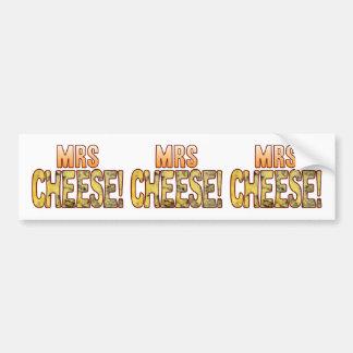 Mrs Blue Cheese Bumper Sticker
