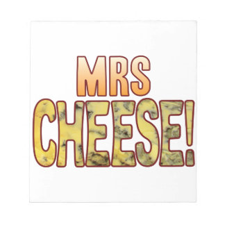 Mrs Blue Cheese Notepads