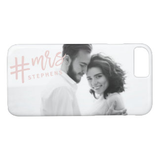 #MRS... BLUSH iPhone 8/7 CASE