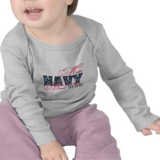 Mrs Brat to you Navy Tee Shirts