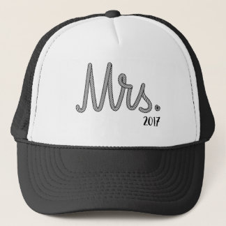 Mrs. Bride 2017 Wedding Gift Trucker Hat