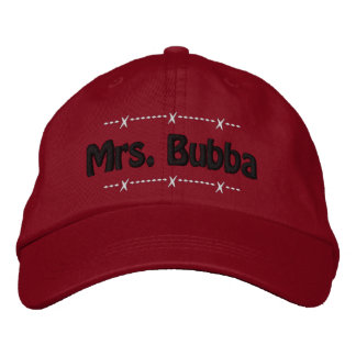 Mrs. Bubba Funny Redneck Nickname Baseball Cap