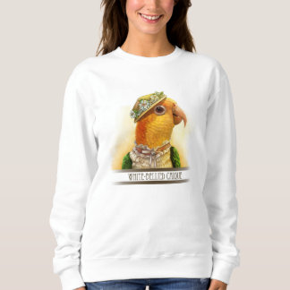 Mrs Caique Realistic Painting Sweatshirt