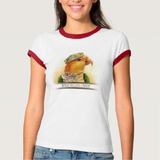 Mrs Caique Realistic Painting T-Shirt