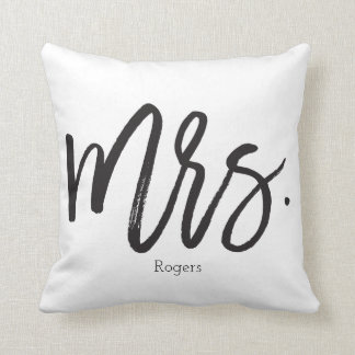 Mrs. Calligraphy Pillow