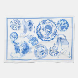 Mrs Chatsworth's China Cabinet Kitchen Towel