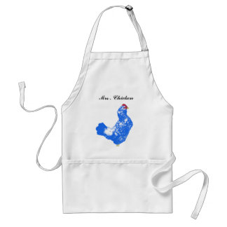 """ Mrs . Chicken "" # 1 Standard Apron"