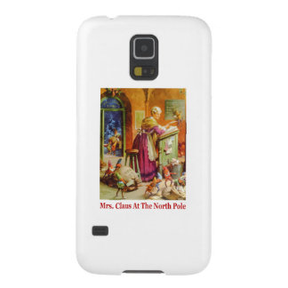 Mrs. Claus & the Elves Read Mail at the North Pole Galaxy S5 Cover