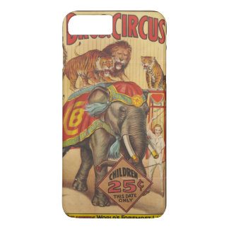 Mrs Clyde Beatty Foremost Lady Wild Animal Trainer iPhone 8 Plus/7 Plus Case