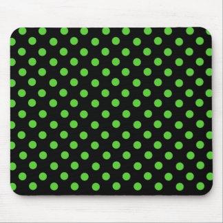 Mrs Cookies Green Spot Polka Dot Mousepad